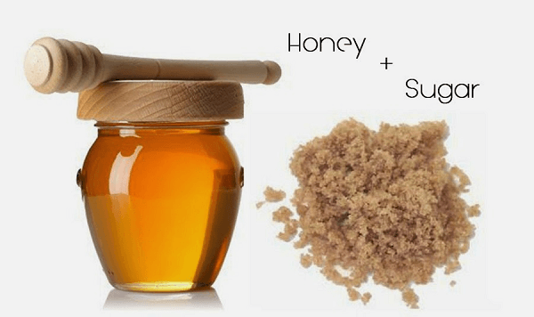 Brown Sugar and Honey Lip Scrub