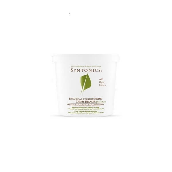 Syntonic botanical conditioning crème relaxer
