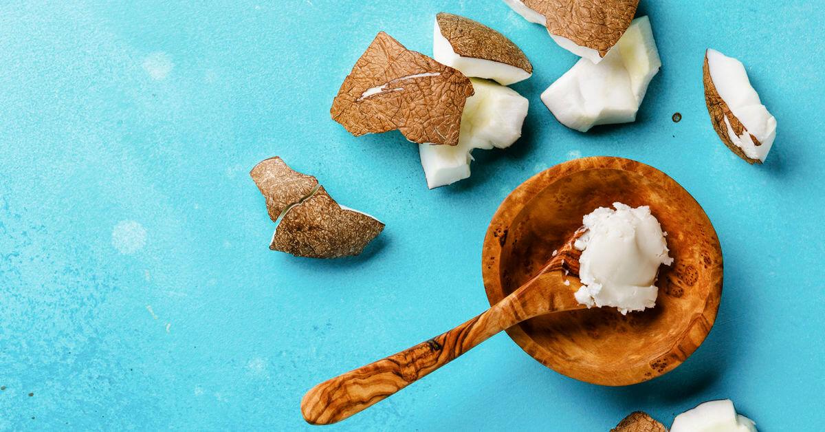 coconut oil eye cream