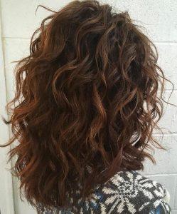 fine curly