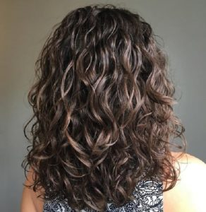 medium curly