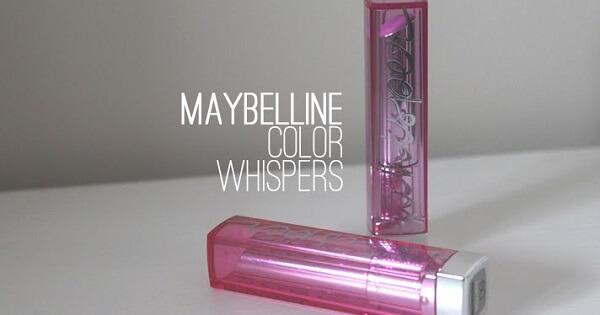 Maybelline Color Whisper