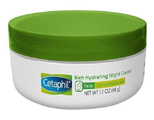 Rich Hydrating Night Cream with Hyaluronic Acid by Cetaphil