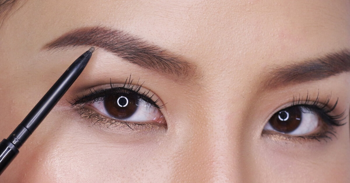 draw on eyebrows without looking fake