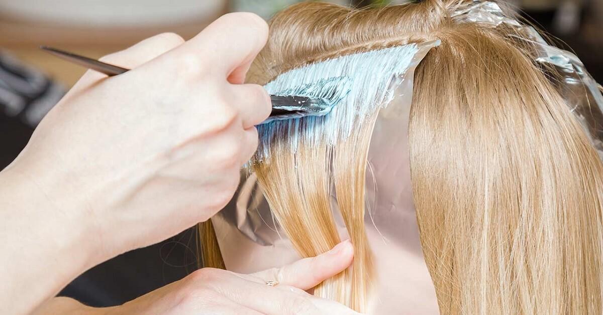 least damaging hair dyes