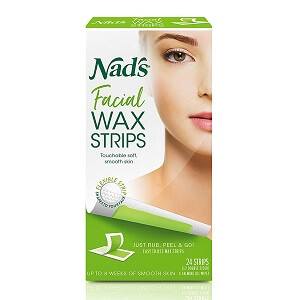 If you're not really into using epilators, creams, or lasers then try wax strips. Easy to use and subtle to handle. You can actually use your hands to rub them up nicely so they can soften. Simply apply on your upper lips, middle of your eyebrow, cheeks, or chin. Place them, put a little pressure and then peel off gently. And voila, it's all clean. Available on Amazon for just $12 it will be your only investment for the whole month, as it not only removes but prevents quick hair growth.