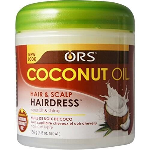 coconut oil hair