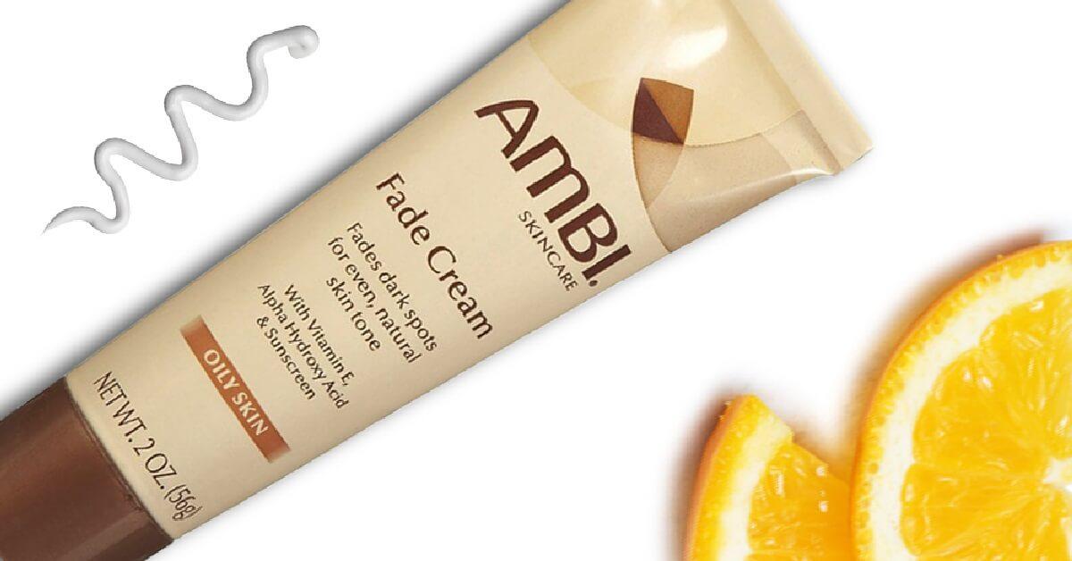 Ambi skin discoloration fade cream with 2 percent hydroquinone
