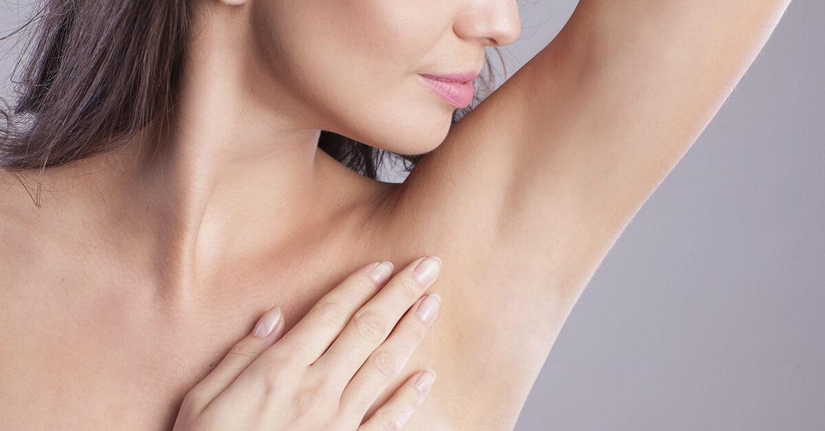 bleaching armpit