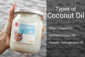 different type of coconut oil