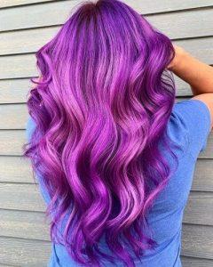 9 bright purple