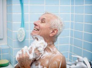 bathing routine